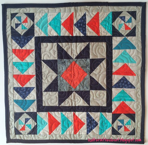 quilt received from my DQS14 partner