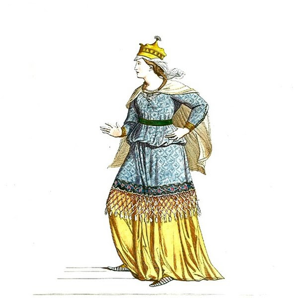 File:Woman in Medieval Dress or Costume (6).JPG