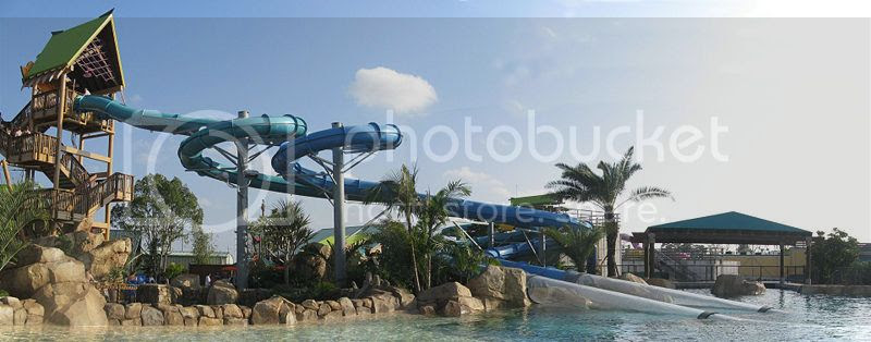 Water World Park in US
