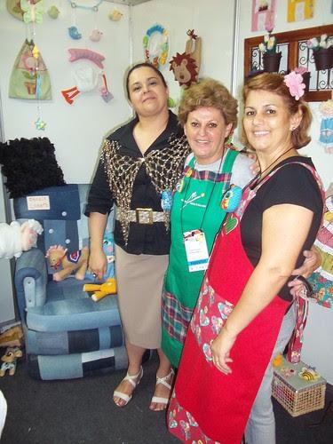 Valeria Soares ,Edila Rodrigues e eu by Vera Arte em Giz