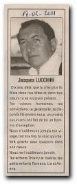 notice 'in memoriam' Jacques Lucchini d'Aullène