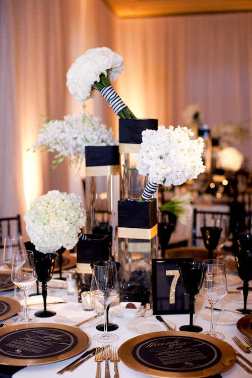 black white gold wedding at the resort at pelican hill APictureLife photography 29