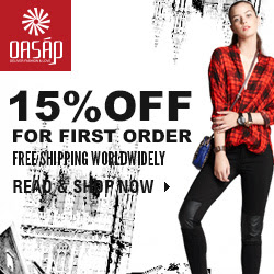 OASAP 15% off for first order