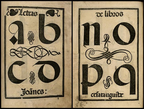 spanish 16th century calligraphy manual