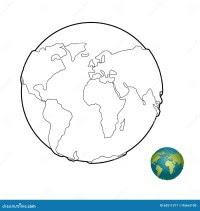 Planisfero Da Colorare