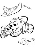 Coloriage Le Monde De Nemo Sur Top Coloriages Coloriages Nemo