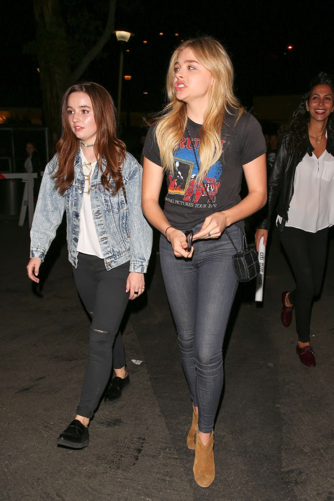 Chloe Moretz and Kaitlyn Dever: We Can Survive Concert -03