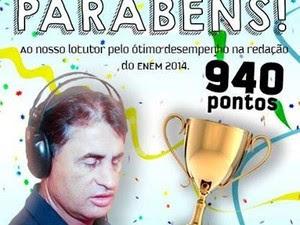 Amigos da rádio homenagearam Antonio no Facebook (Foto: Reprodução/Facebook)