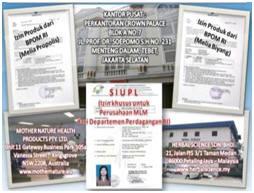 Memiliki legalitas hukum yang lengkap dari RI