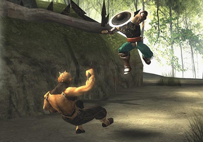 Shaolin Monks trocou as arenas por cenários abertos (Foto: Reprodução)