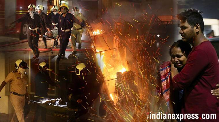 kamala mills fire, mumbai fire, bmc, one above bar, london taxi bar, saki naka, mumbai fires in 2017, indian express