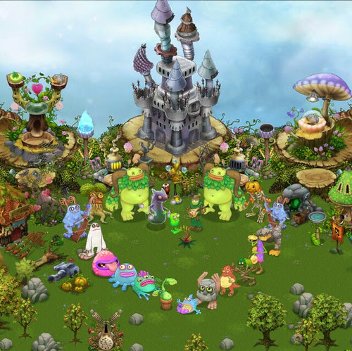 My Singing Monsters Plant Island