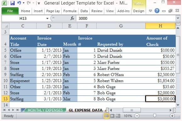 Record and Specify Expenses
