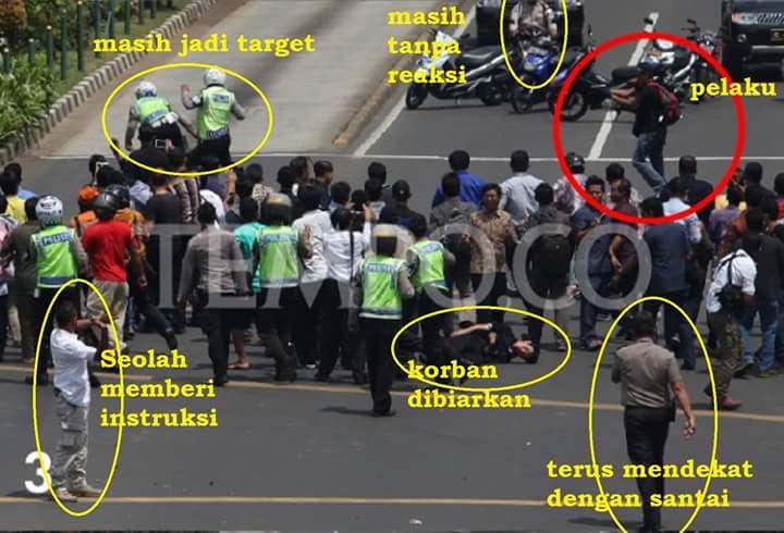 Foto Janggal di Tragedi Bom Sarinah 3