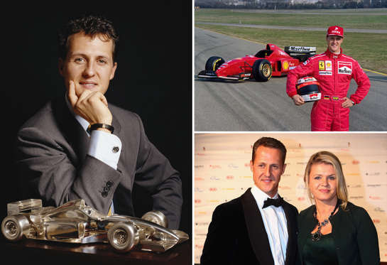 With 91 Grand Prix wins and a stellar track record, Michael Schumacher is arguably one of the most respected and revered names in Formula One racing. We take a look at some of the key moments in his life so far.