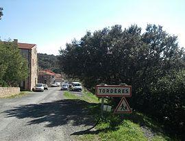 Tordères - Entrée chemin Fourques.jpg