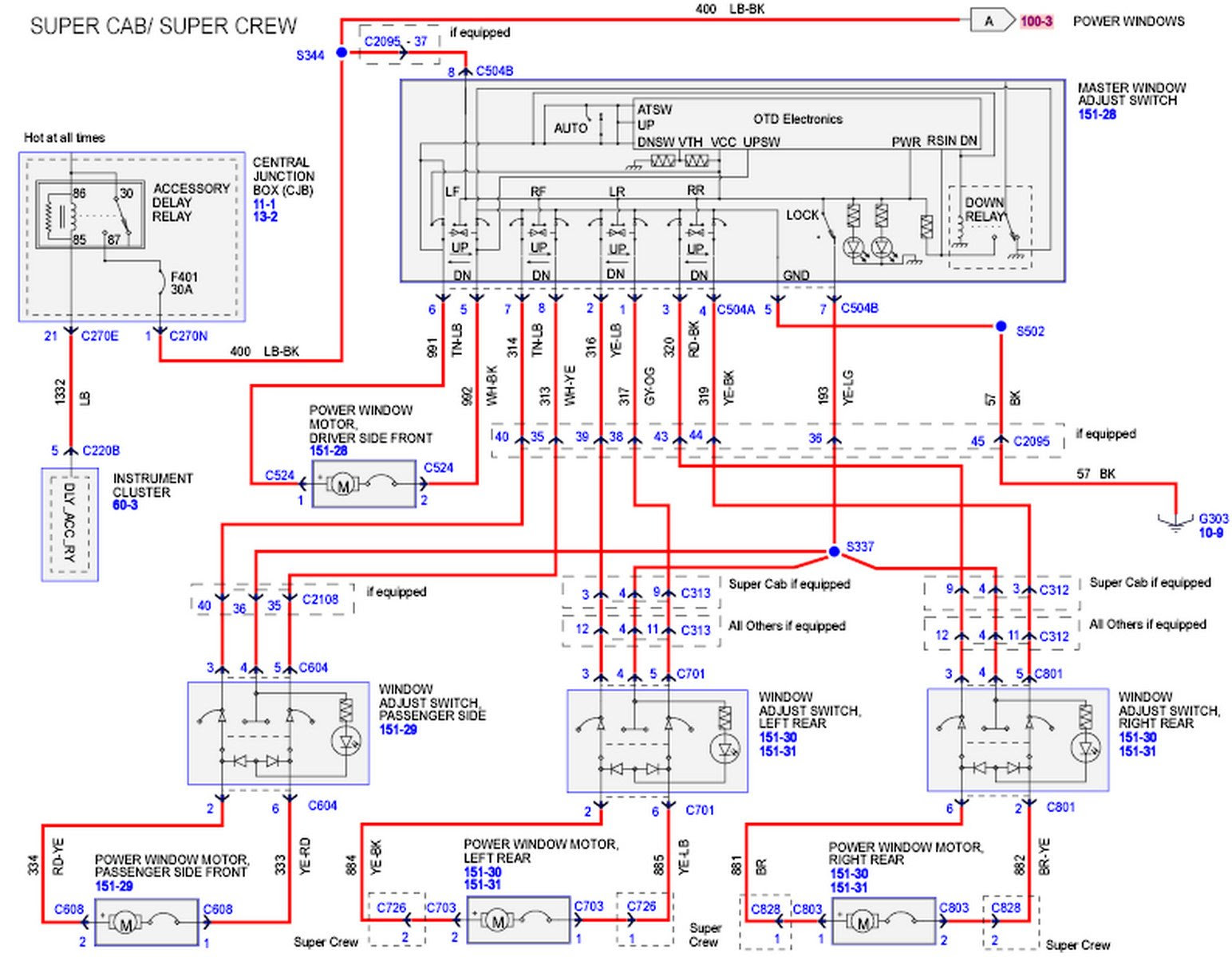 2002 Ford F 150 Window Wiring Diagram Wiring Diagrams Post Primary Primary Michelegori It