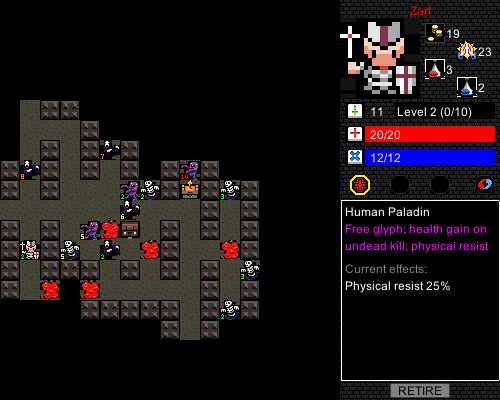 Desktop Dungeons -- screenshot