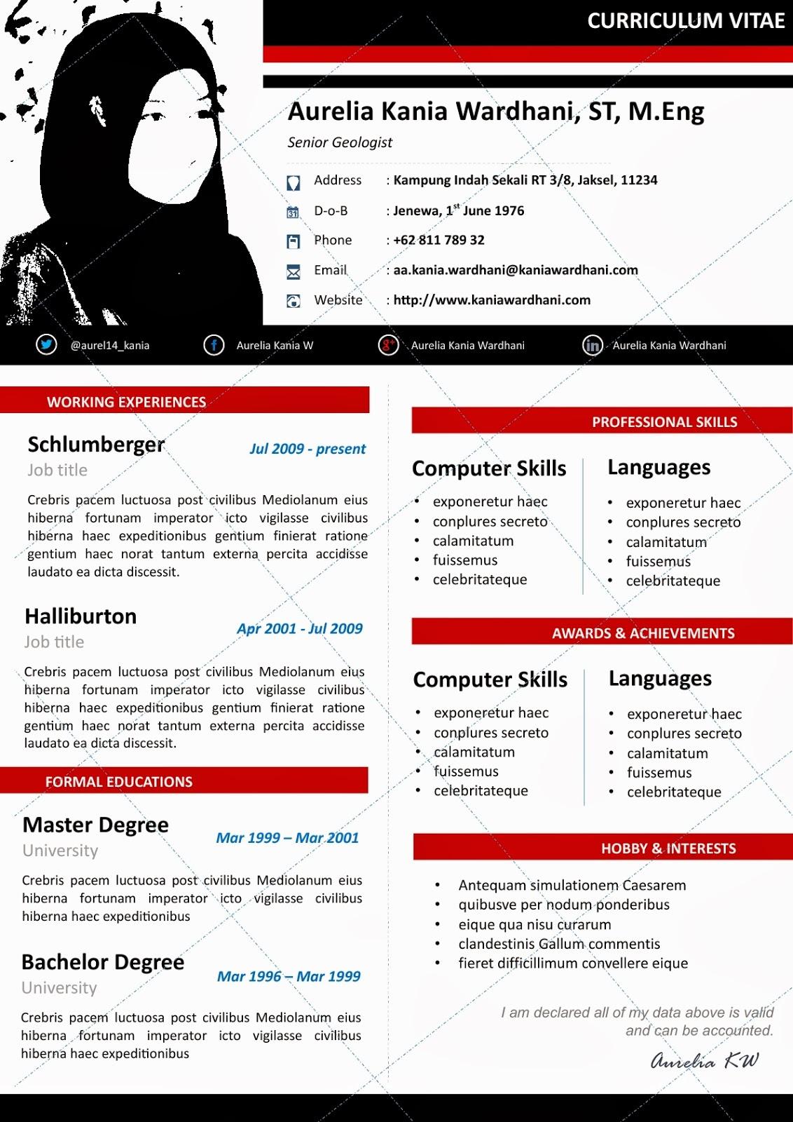 contoh application letter bahasa indonesia fresh graduate