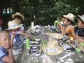 20080815-90夏キャン(山中野営場)お昼ごはん