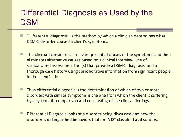 Term Papers About Dsm 5 Elimination Disorders