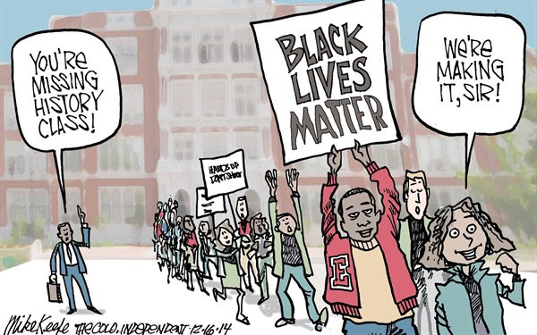 Image result for black lives matter cartoons