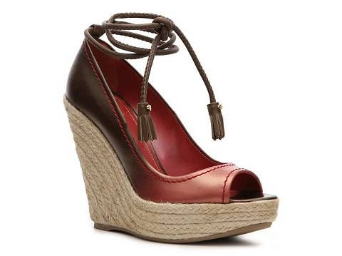 Sergio Rossi Ombre Wedge Pump