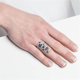 Diamond Cage Ring   Graziela Gems