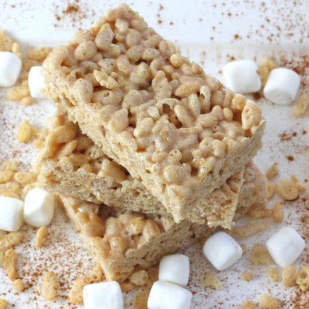 Cinnamon Marshmallow Krispiet Treat
