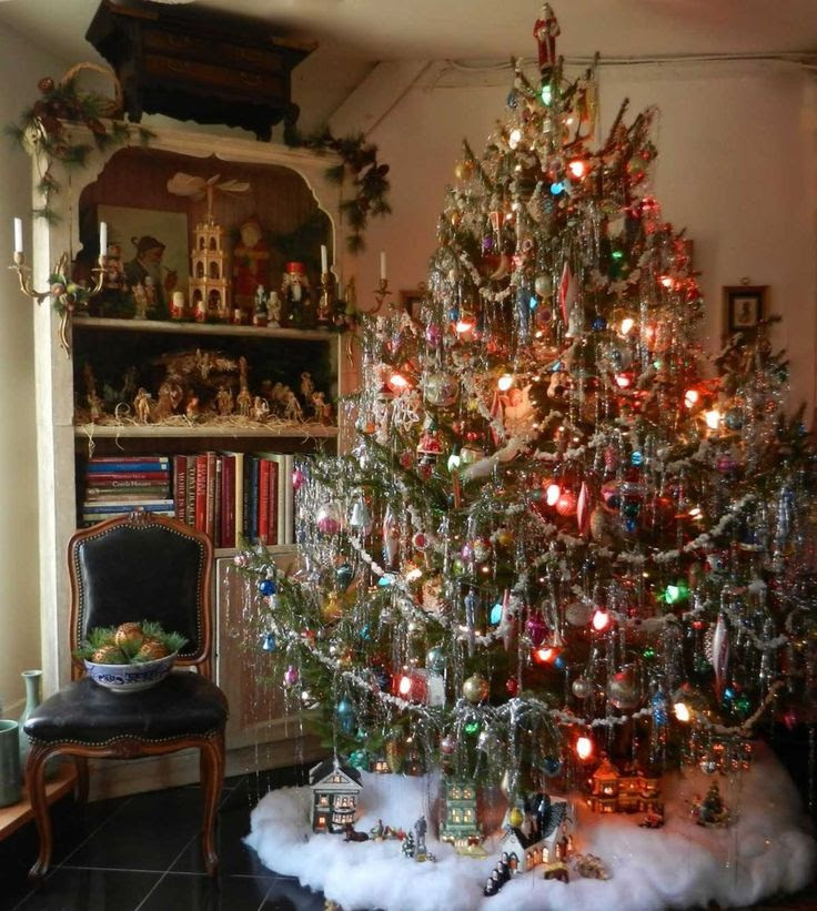 Vintage Christmas Trees Ideas Christmas Celebration All About