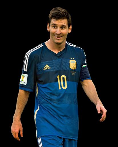Leo Messi PNG Argentina 2014 by sortecana39 on DeviantArt
