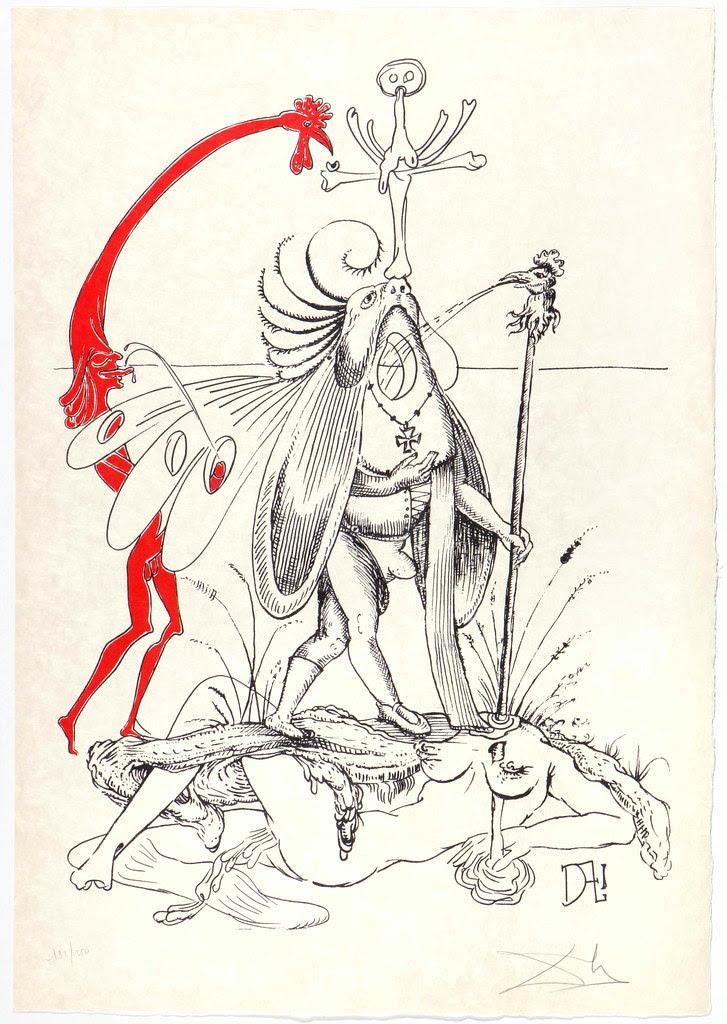 Salvador Dali - Pantagruel 13 (1974)