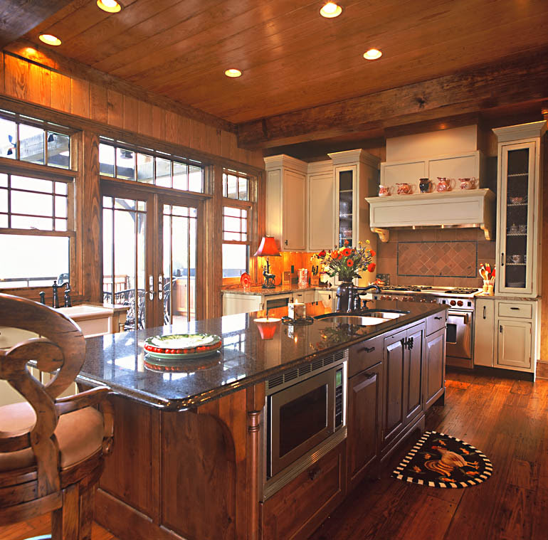 Kitchen Renovations | Mountain Home Architects, Timber Frame ...