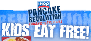 ihop IHOP ~ Kids Eat Free In August