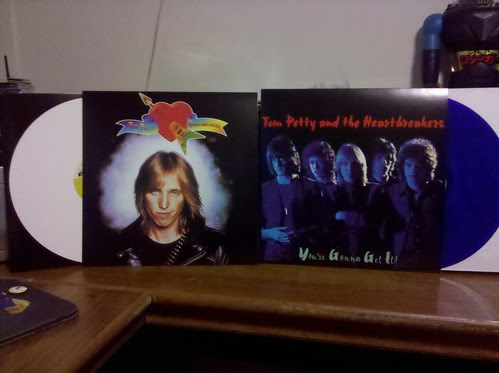 Record Store Day Haul #7 & #8 - Tom Petty & The Heartbreakers - Reissue LPs - White & Blue Vinyl