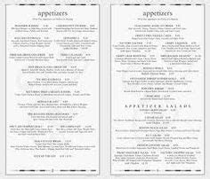 The cheesecake factory menu with all of cheesecake flavors