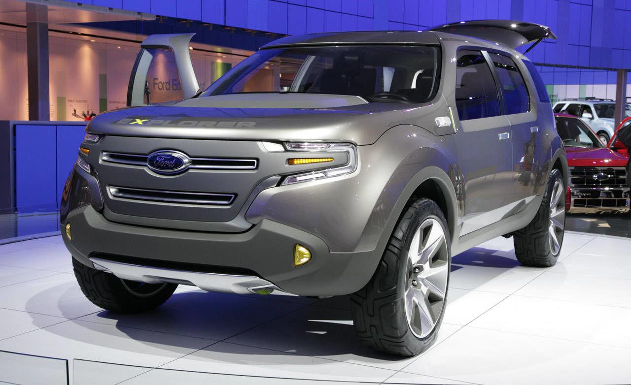 Future Ford Explorer 2020 Cars