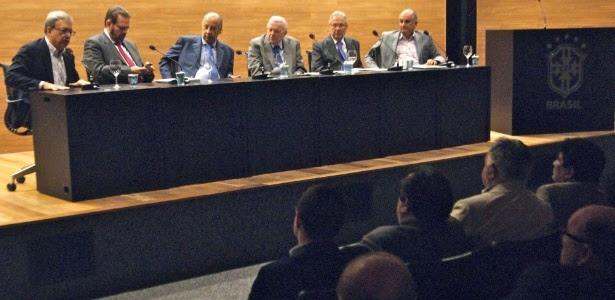 05.ago.2014 - Marcelo Campos Pinto participa de reunião da CBF com clubes das Séries C e D do Campeonato Brasileiro