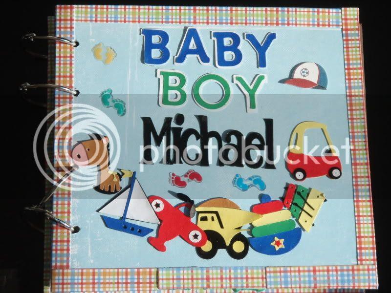 Baby Boy Mini Album Cover
