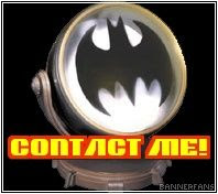 Switch the Bat-Signal on! E-mail me!