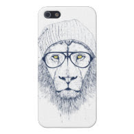 Cool lion (white) cover for iPhone 5
