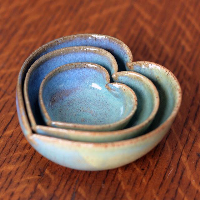 My new heart bowls