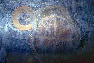 Η τοιχογραφία του μαρτυρίου στην εκκλησία του Αγίου Γεωργίου στον Καλαμά