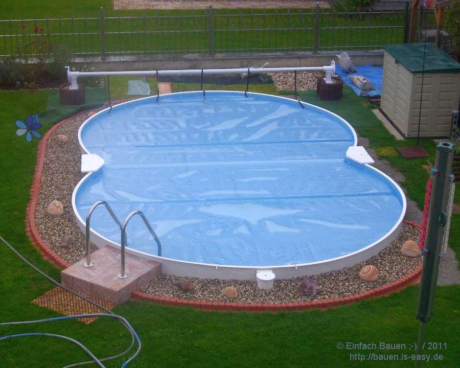 pool aufroller selber bauen