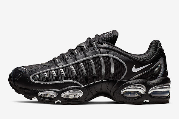 eda06a0613 The Nike Air Max Tailwind IV Emerges In Black And Silver