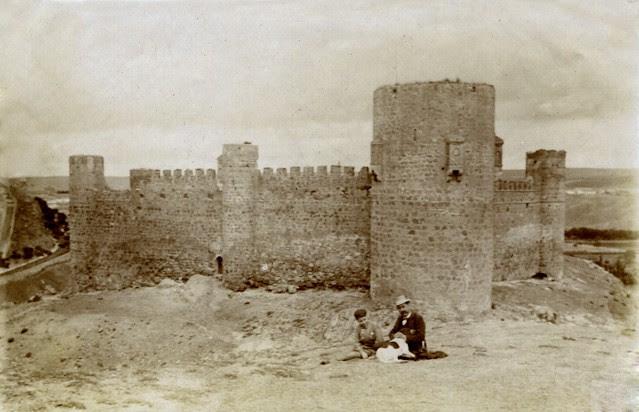 Castillo de San Servando en junio de 1905. Fotógrafo anónimo. Colección Luis Alba. Ayuntamiento de Toledo