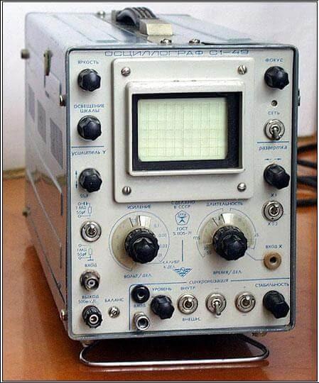 Инструкция по эксплуатации осциллографа
