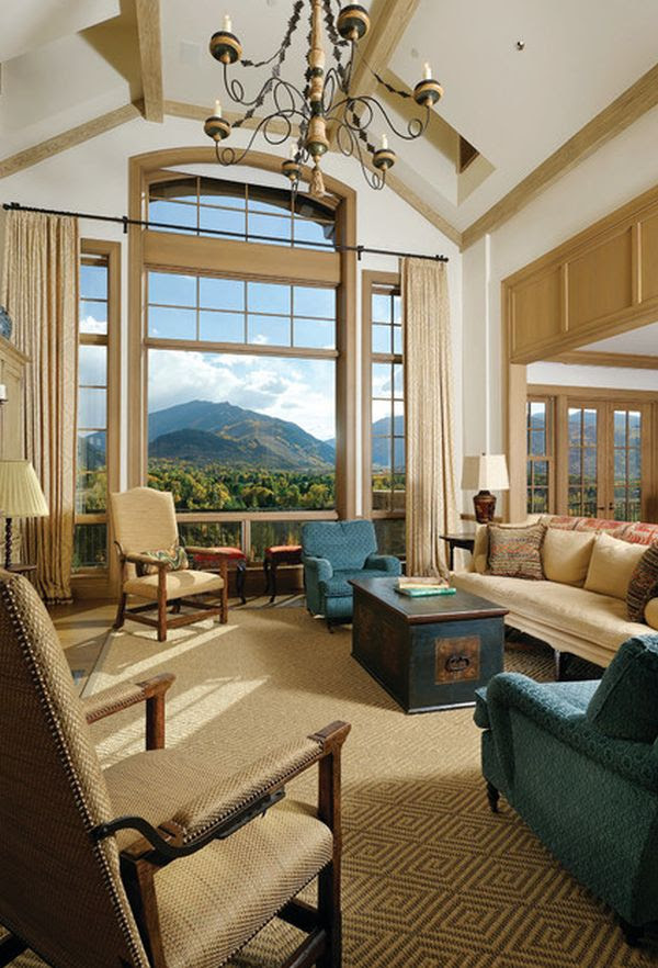 Modern Furniture Trends & Ideas: 10 High Ceiling Living