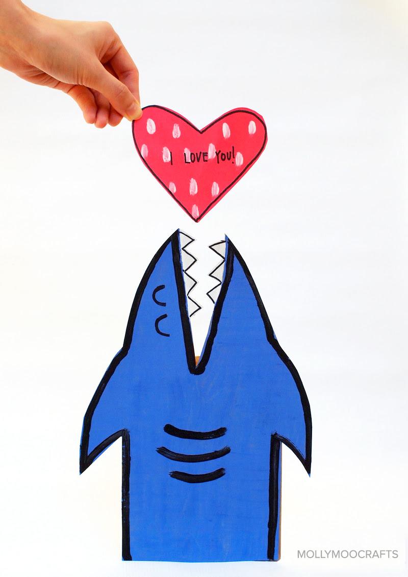 Valentine Card- Shark Box!