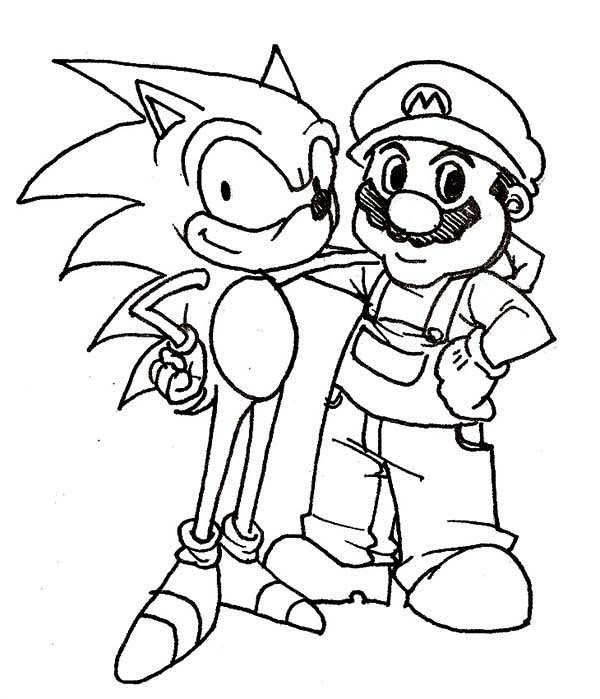 Mario Christmas Coloring Pages at GetColorings.com   Free ...